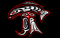 Co Salish Art,  BRT Logo